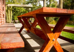 outdoor table narrow