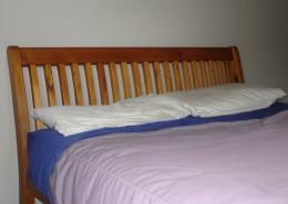 sleigh bed head board