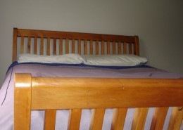 sleigh bed matching headboard and footboard