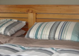 super king bed headboard joinery